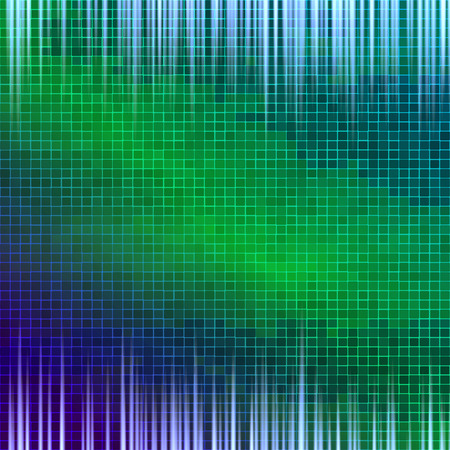 Abstract background of colored squares. Vector Illustration