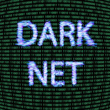Dark net concept Vector Ilustrace