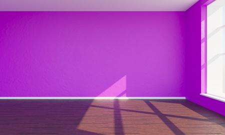 3d render pink bedroom Reklamní fotografie