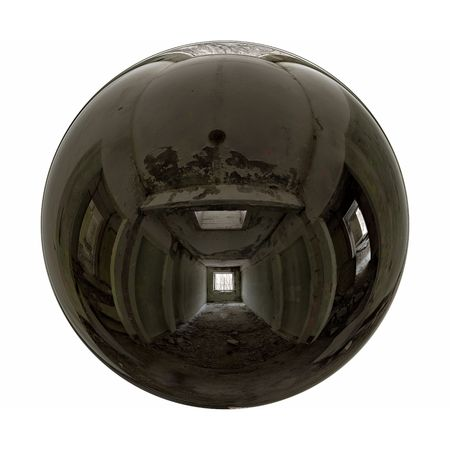 Abandoned room mirrorball 版權商用圖片