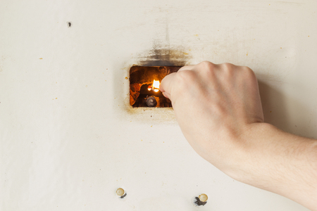 snuff: Firing up old russian gas water heater