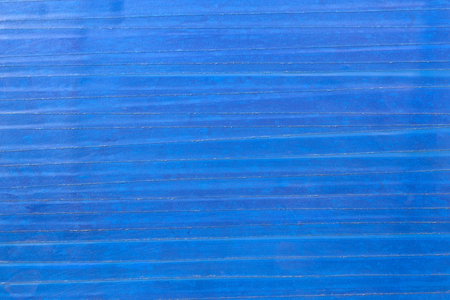 Flat texture and background of old blue pvc duct tape