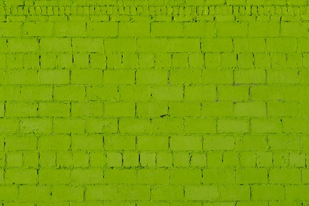green plaster rough brick outside wall texture
