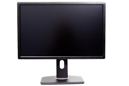 monitor IPS WUXGA nero isolato su sfondo bianco
