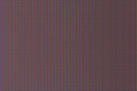 close-up texture of ips - in-plane switching type screen with rgb pixel structure.