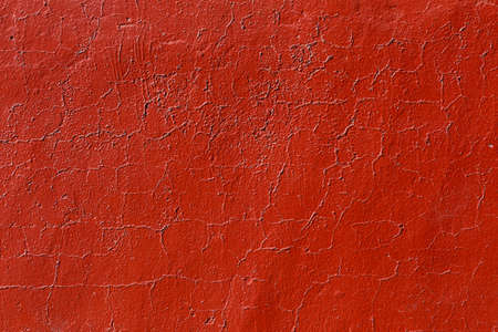texture of flat thick painted wall surface under direct sunlight