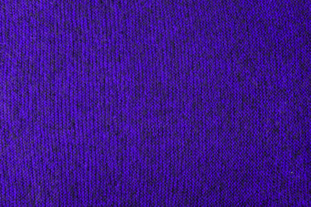violet and black melange knitted texture and flat background