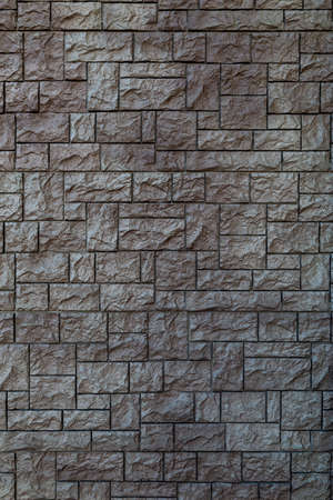 flat texture of artificial stone wall tiles