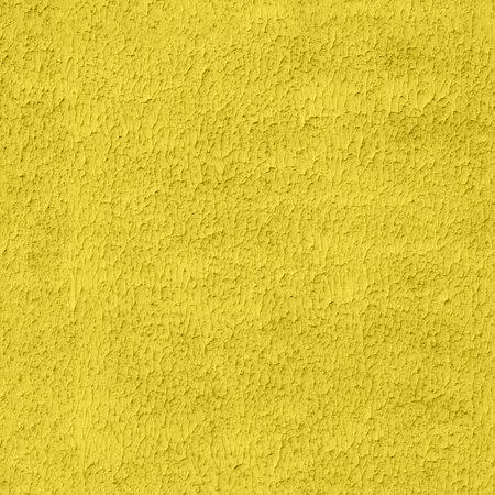 seamless illuminating yellow color flat plaster wall with lamb or shuba pattern 版權商用圖片