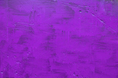 carelessly painted purple flat surface - texture and full frame background