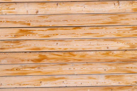 yellow wooden planks board full frame background and texture