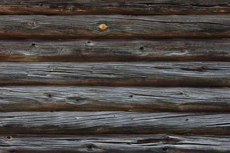two hundread years ancient log wall