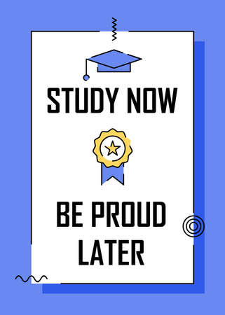 Motivational quotes about education poster design. Easy to edit with vector file. Can use for your creative content. Especially about self development.