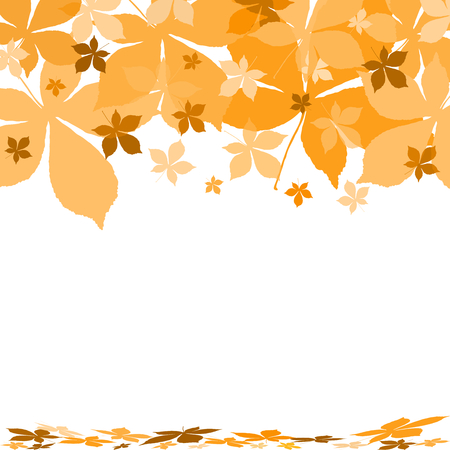 autumn background Stock Vector - 7991008