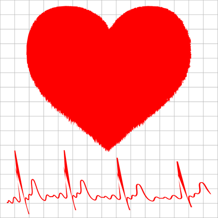 physical pressure: heart monitor graph