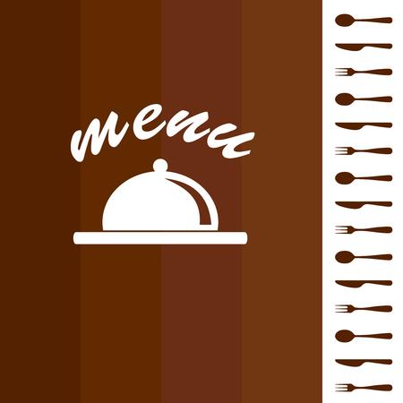 vector. restaurant menu background Vector