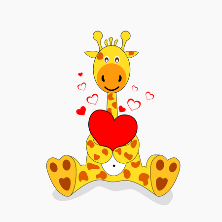 mating: giraffe in love