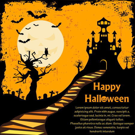 halloween background Imagens - 7991007