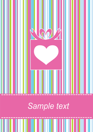 Greeting card Stock Vector - 8057319