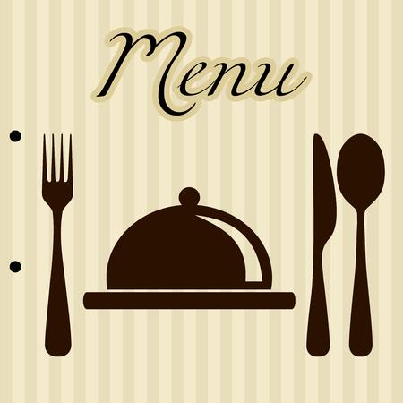 레스토랑 메뉴 배경