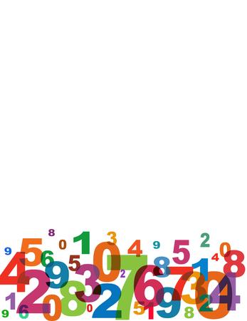 cyfra: Numery tła