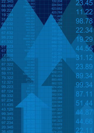 earnings: Grafik, die Anstieg der Gewinne oder Ertr�ge
