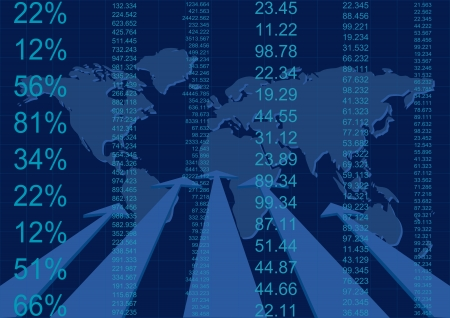 finance report Illustration