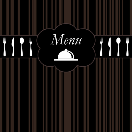 restaurant menu background Stock Vector - 8102766