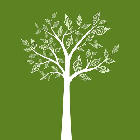 추상 나무