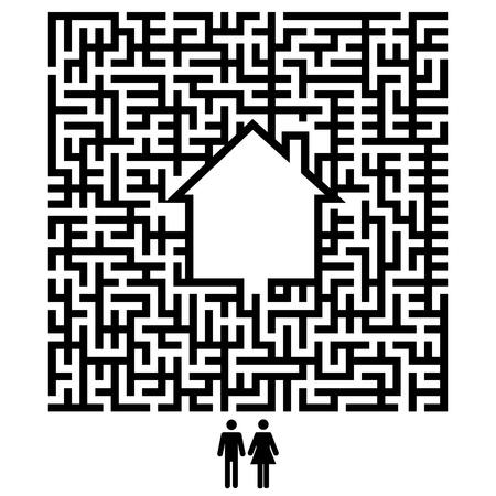 complicación: pareja y casa