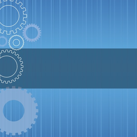 industrial machine: Abstract technology background