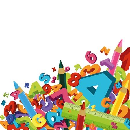 matematik: Okul arka plan