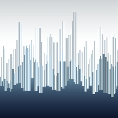 Abstract city landscape Imagens - 11508884