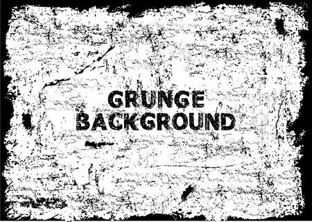 Grunge texture - abstract stock vector template Ilustração