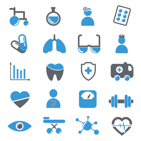 Medical icons collection Ilustração