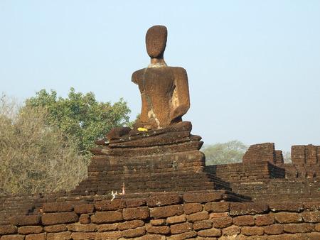 historical: kamphaengphet historical Park Stock Photo