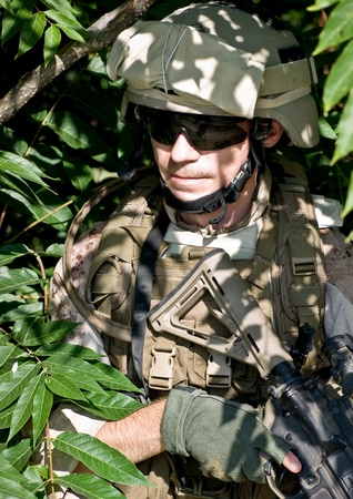 power rangers: soldier n the jungle Stock Photo