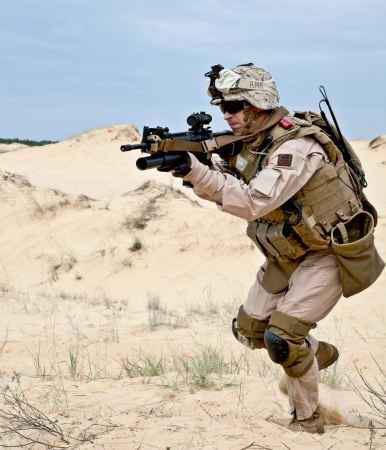 american soldier: fighting in the desert