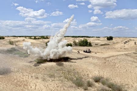 detonation: Ambush Stock Photo