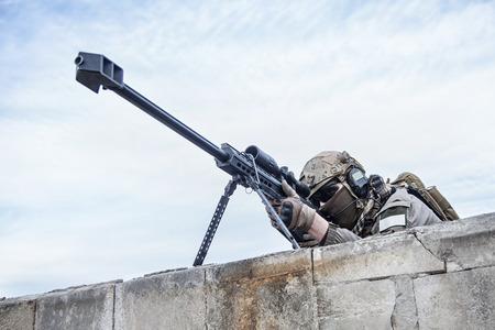 軍事作戦中にアメリカ軍の狙撃兵