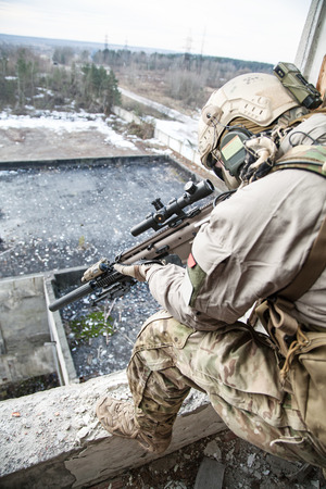 regiment: United States Army ranger during the military operation