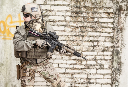 ranger: United States Army ranger during the military operation
