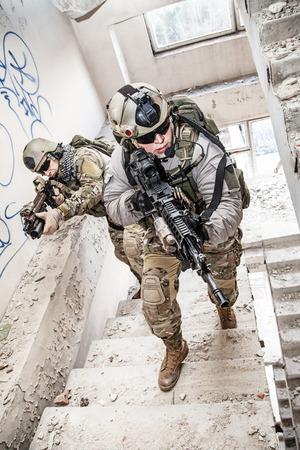 United States Army Rangers tijdens de militaire operatie