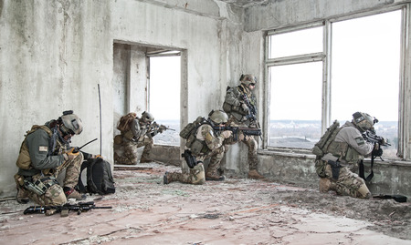special forces: United States Army rangers during the military operation