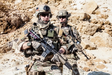 ranger: United States Army rangers in the mountains