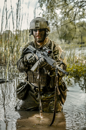 gi: Green Berets US Army Special Forces Group soldier in action
