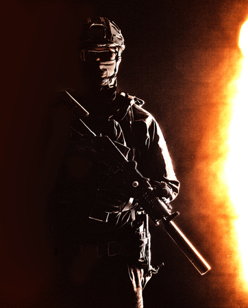 Private military or security company armed guard