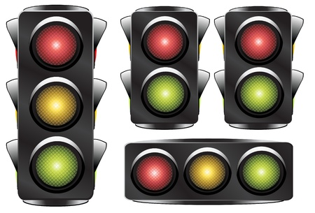 traffic light Stock Vector - 8973781