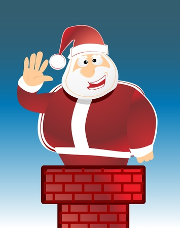 Santa Claus Stock Vector - 8973637