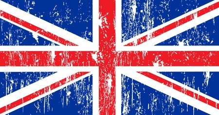 shredding: uk flag